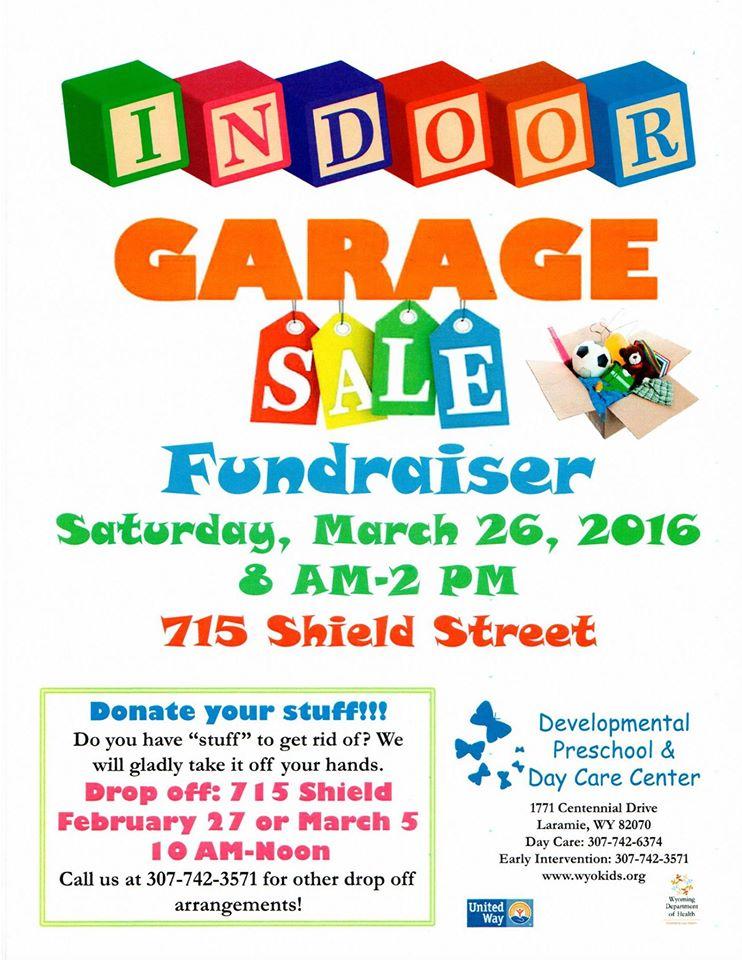 dpdcc indoor garage sale